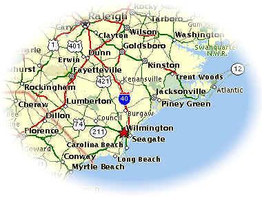 Coast Of South Carolina Map.31 Perfect Map Of North Carolina Coastal Towns Bnhspine Com